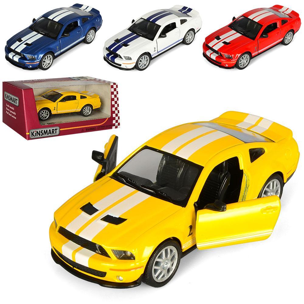 Машинка KT 5310 W  металл, инер-я, 12см, 1:38, рез.колеса,откр.двери,4цвета,в кор-ке,16-7-8см