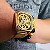 Часы наручные мужские Forsining 1148 All Gold, фото 3