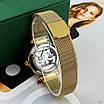 Жіночі наручні годинники Forsining 1171 Gold-White, механіка, фото 3