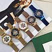 Жіночі наручні годинники Forsining 1171 Gold-White, механіка, фото 6