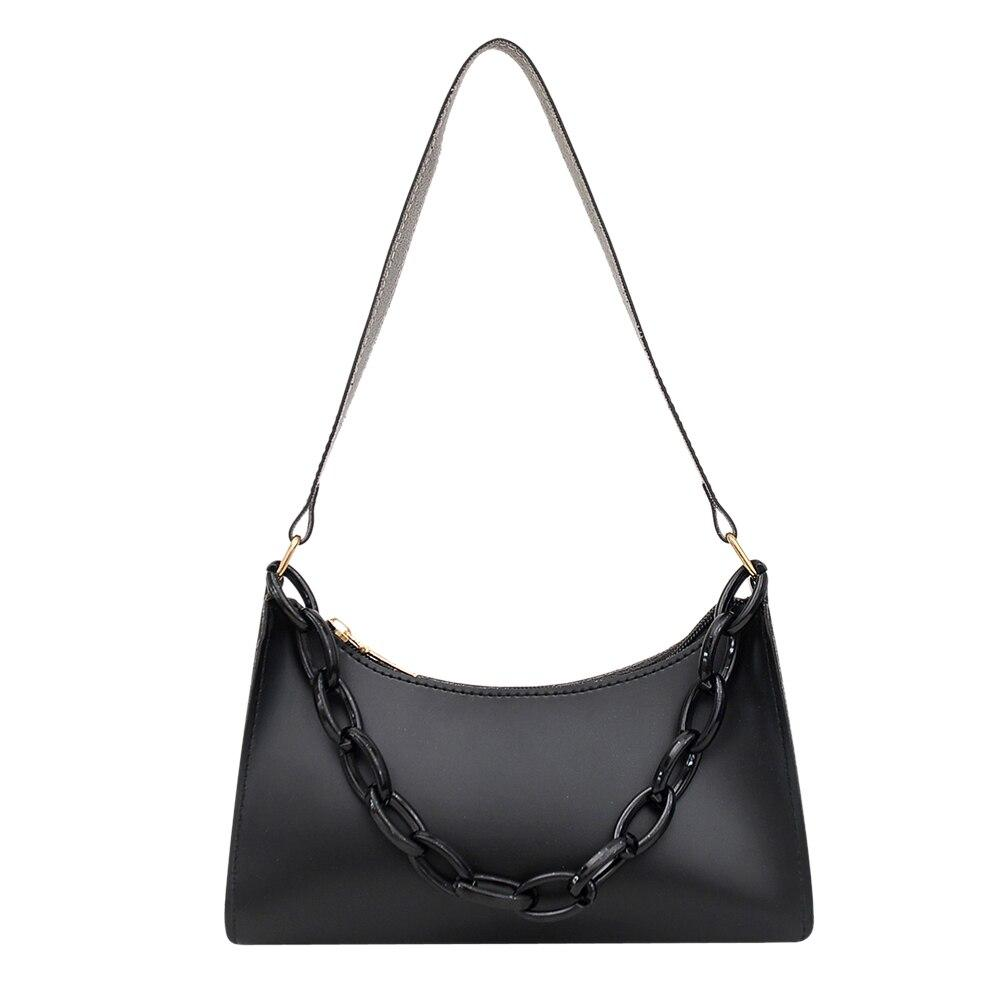 Жіноча сумочка човник колір Чорний