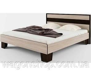 Кровать Сокме Скарлет 140 155смх90.5смх205см Венге магия/Дуб сонома
