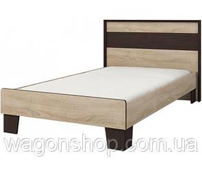 Ліжко Сокме Скарлет 90 105смх90.5смх205см Венге магія/Дуб сонома