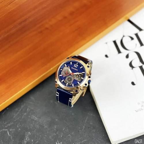 Часы наручные мужские Guardo 011998-4 Blue-Cuprum