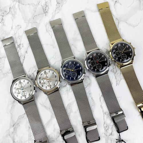 Наручні чоловічі годинники Guardo 012238-2 Silver-White