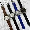 Чоловічі чорні годинник Guardo 012287-4 Black-Gold, фото 5
