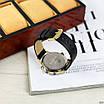 Чоловічі чорні годинник Guardo 012287-4 Black-Gold, фото 3
