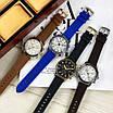 Чоловічі чорні годинник Guardo 012287-4 Black-Gold, фото 4
