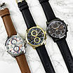 Якісні чоловічі наручні годинники Guardo 012313-5 All Black, фото 4