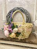 Пасхальний кошик «Бархатний фіолетовий», фото 5