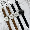 Чоловічі наручні годинники в стилі мінімалізму Guardo 012522-3 Brown-Gold-White, фото 3