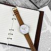 Чоловічі наручні годинники в стилі мінімалізму Guardo 012522-3 Brown-Gold-White, фото 2