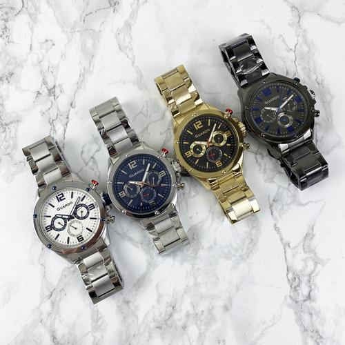 Часы наручные мужские Guardo 11455-5 Black-Blue