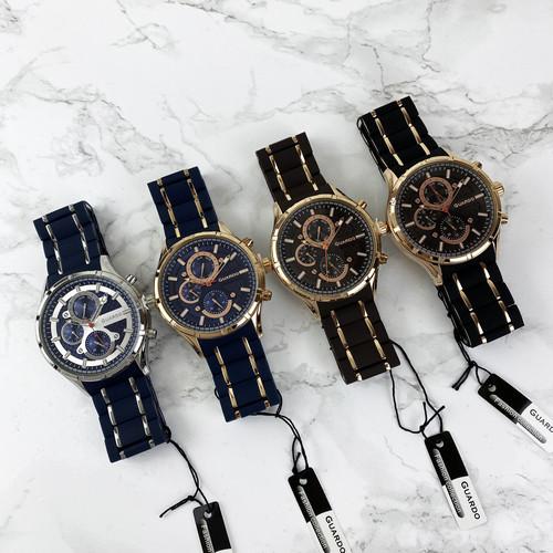 Часы наручные мужские Guardo 11531-5 Blue-Cuprum