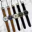 Часы наручные мужские Guardo B01318-5 Dark  Brown-Gold-White, фото 6