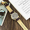 Часы наручные мужские Guardo B01318-5 Dark  Brown-Gold-White, фото 5