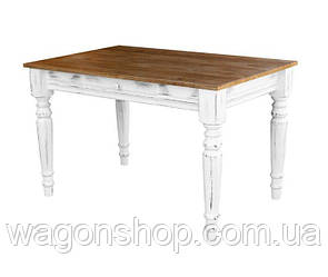 Стол обеденный Грамма Френч 80х160 массив дуба (F160)