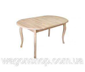 Стол раскладной Грамма Эльза 80х140х40 дуб (EB140)