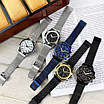 Часы наручные мужские Guardo B01352(2)-2 Silver-Blue-White серебреные, фото 4