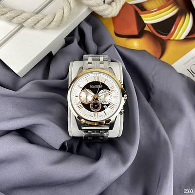 Часы Guardo S01797-3 Silver-Gold