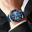 Часы наручные мужские Megalith 8087M Blue-Cuprum, фото 2