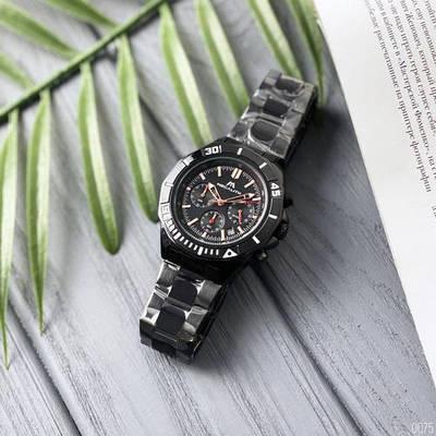 Стальные мужские часы Megalith 8206M All Black черные