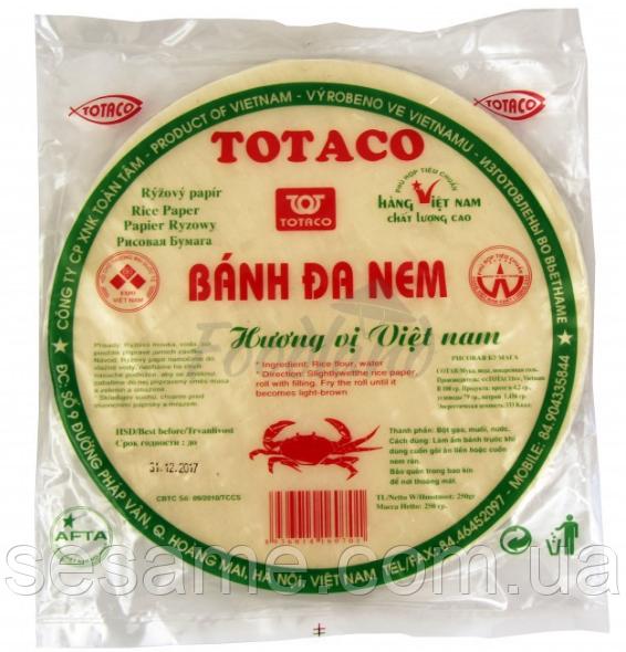 Рисовий папір Rice Paper TOTACO 250г (В'єтнам)