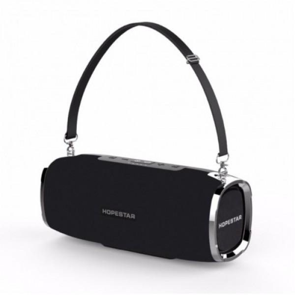 Мощная портативная bluetooth колонка Sound System A6 Pro Original Hopestar 35 ВТ Черная