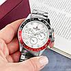 Часы наручные мужские Naviforce NF9147 Silver-White-Red, фото 3