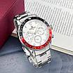 Часы наручные мужские Naviforce NF9147 Silver-White-Red, фото 4