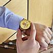 Золоті наручні годинники Naviforce NF9169 All Gold молодіжні, фото 3