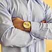 Золоті наручні годинники Naviforce NF9169 All Gold молодіжні, фото 4