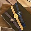Золоті наручні годинники Naviforce NF9169 All Gold молодіжні, фото 6