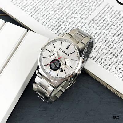 Часы Quantum ADG 664.330 Silver-White