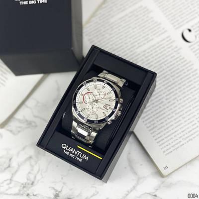 Часы Quantum ADG 672.330 Silver-White