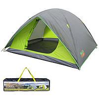 Палатка четырехместная двухслойная Green Camp 1018-4