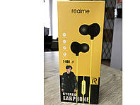 Наушники проводные Realme T-008 с микрофоном Навушники провідні