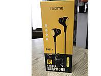 Наушники проводные Realme T-007 с микрофоном Навушники провідні