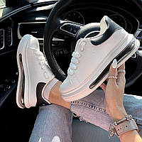 Новинка белые женские кроссовки
