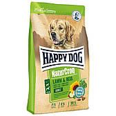 Корм для взрослых собак весом более 11 кг NaturCroq Lamm and Reis 15 кг (60526 Happy Dog)