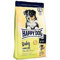 Корм для щенков средних и крупных пород с 4 недели жизни Baby Lamb and Rice 18 кг (60394 Happy Dog)
