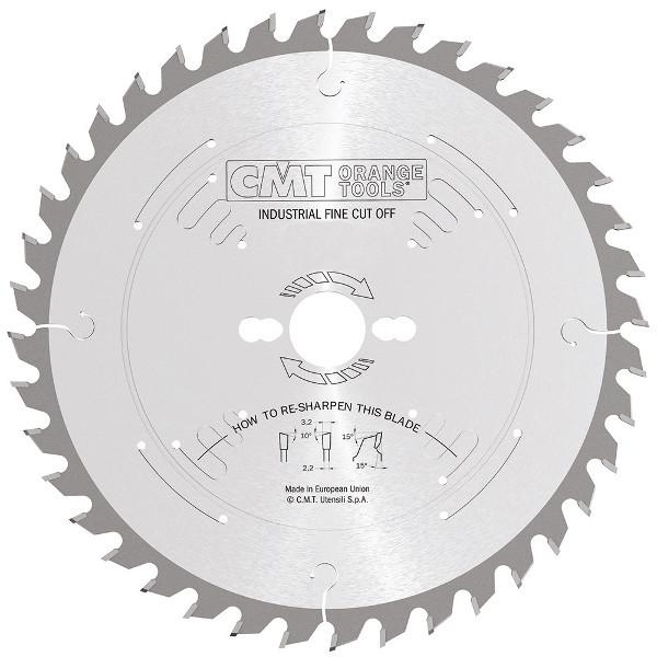 CMT 300x30x3,2x36 пиляльний диск універсальний, поздовжній і поперечний рез