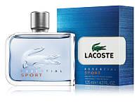 Мужская туалетная вода Lacoste Essential Sport Men 125 ml, мужские духи парфюм Лакоста Эссеншиал Спорт