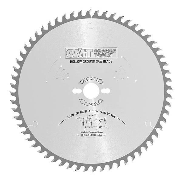 CMT 220x30x3,2x42 пильний диск для формато-раскроечного верстата без підрізного вузла,швидкий різ