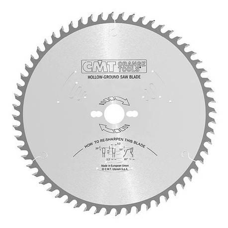CMT 220x30x3,2x42 пильний диск для формато-раскроечного верстата без підрізного вузла,швидкий різ, фото 2