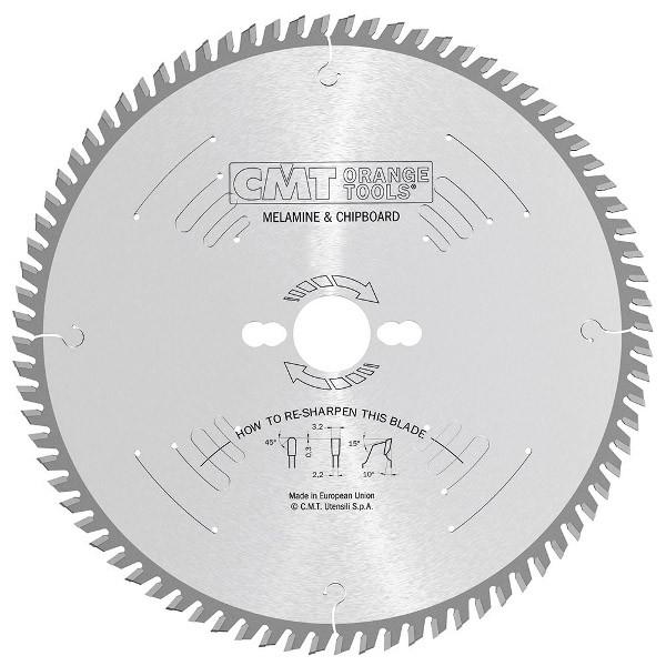CMT 250x30x3,2x60 пильний диск для формато-раскроечного верстата без підрізного вузла Xterme