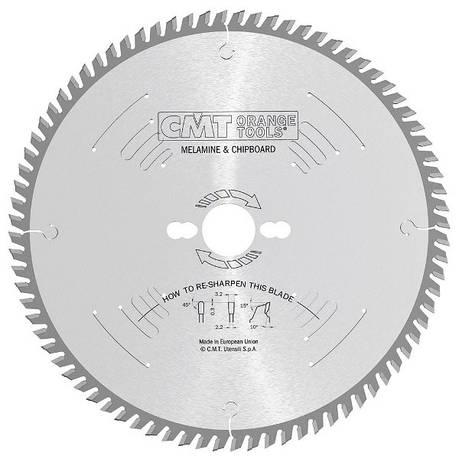 CMT 250x30x3,2x60 пильний диск для формато-раскроечного верстата без підрізного вузла Xterme, фото 2