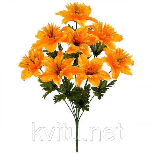 Искусственные цветы букет нарцисс махровый, 54см