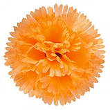 Искусственные цветы букет гвоздик крупных, 47см, фото 2