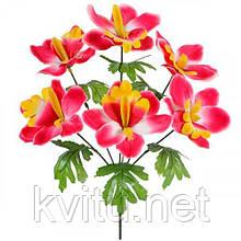 Искусственные цветы букет орхидей, 36см
